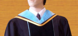 doctoral gown