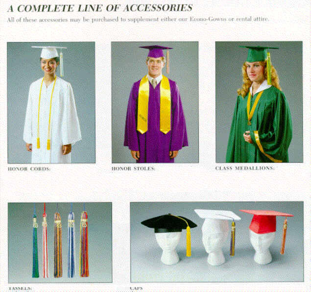 graduation gifts and academic regalia accessories