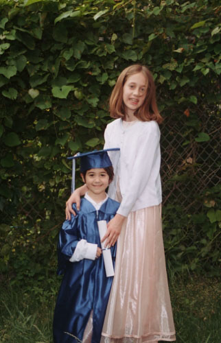 preschool graduation gown